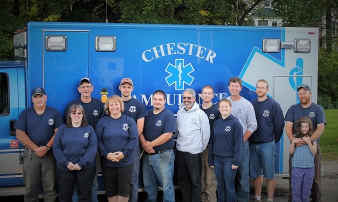Chester Ambulance 2014